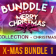 The All Christmas Bundle Vol.1 - GraphicRiver Item for Sale