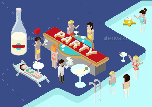 GraphicRiver Party Concept 9550727