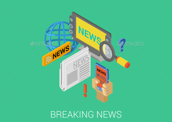 GraphicRiver Breaking News Concept 9550731