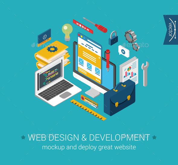 GraphicRiver Web Design Concept 9550733