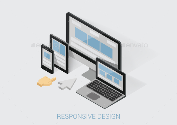 GraphicRiver Responsive Design Concept 9550751