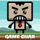 Jumping Box Game Character Sprite Sheets - GraphicRiver Item for Sale