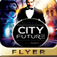 Futurism City Flyer Design