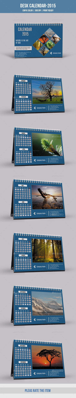Corporate Desk Calendar 2015
