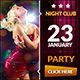 Nightclub Web Banners - GraphicRiver Item for Sale