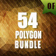 54 Polygon Backgrounds Bundle - GraphicRiver Item for Sale