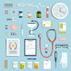 Medicine Objects and Medicament Collection - GraphicRiver Item for Sale