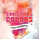 Christmas Colors Party Flyer - GraphicRiver Item for Sale