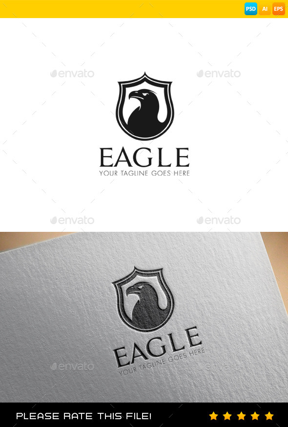 GraphicRiver Eagle Logo 9487528
