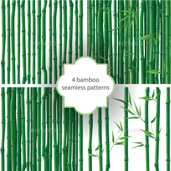 GraphicRiver Bamboo Patterns 8056852