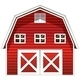 Red Barn House - GraphicRiver Item for Sale