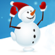 Snowman Christmas Time - GraphicRiver Item for Sale