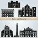 Bari Landmarks and Monuments - GraphicRiver Item for Sale