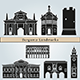 Bergamo Landmarks and Monuments - GraphicRiver Item for Sale