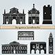 Bergamo Landmarks and Monuments - GraphicRiver Item for Sale
