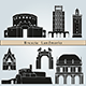 Brescia Landmarks and Monuments - GraphicRiver Item for Sale