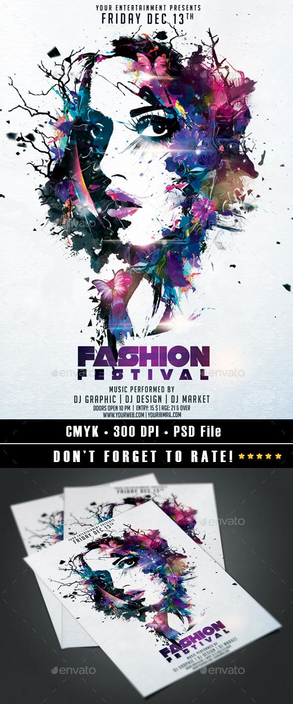 GraphicRiver Fashion Festival 9553301
