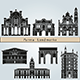 Parma Landmarks and Monuments - GraphicRiver Item for Sale
