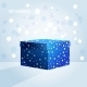 Blue Box on Light Blue Background - GraphicRiver Item for Sale