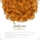 Curled Hair Background - GraphicRiver Item for Sale