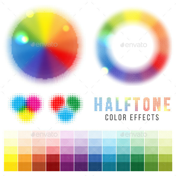 GraphicRiver Color Halftone Effects 8321918