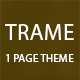 Trame- Multipurpose Landing Page - ThemeForest Item for Sale
