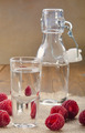 raspberry schnapps in a glass - PhotoDune Item for Sale