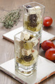 mediterranean salad in a shot glass - PhotoDune Item for Sale