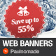Winter Sale Web Banners  - GraphicRiver Item for Sale