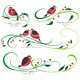 Bullfinch and Christmas Ornaments - GraphicRiver Item for Sale