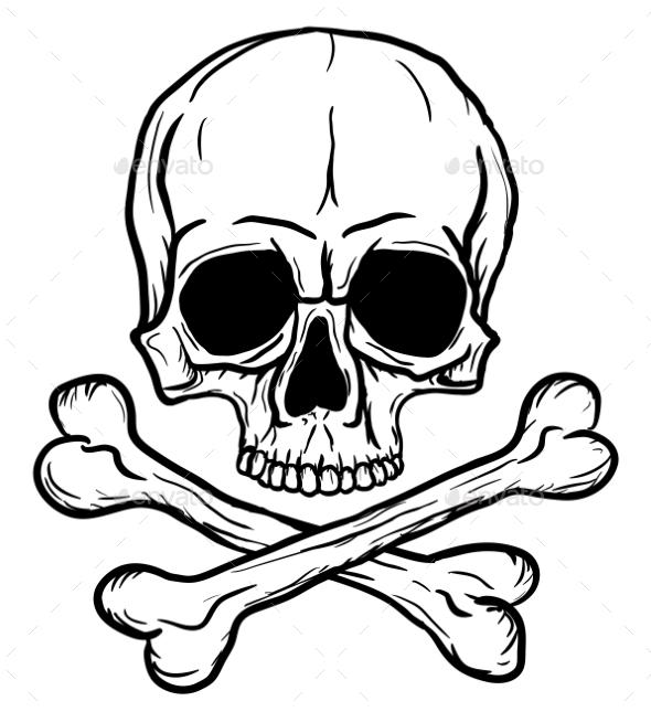 GraphicRiver Skull and Crossbones 9554002
