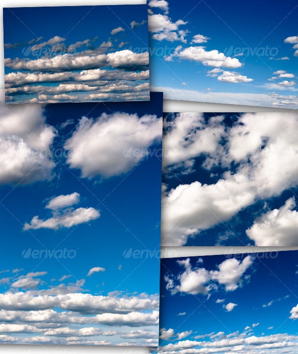 GraphicRiver Clouds Pack 01 121957
