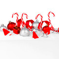 Christmas decorations in snow - PhotoDune Item for Sale