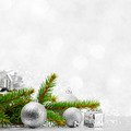 Firtree and christmas decor - PhotoDune Item for Sale