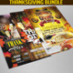 Thanksgiving Flyer Bundle - GraphicRiver Item for Sale