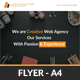 Creative Web Agency Flyer Template - GraphicRiver Item for Sale