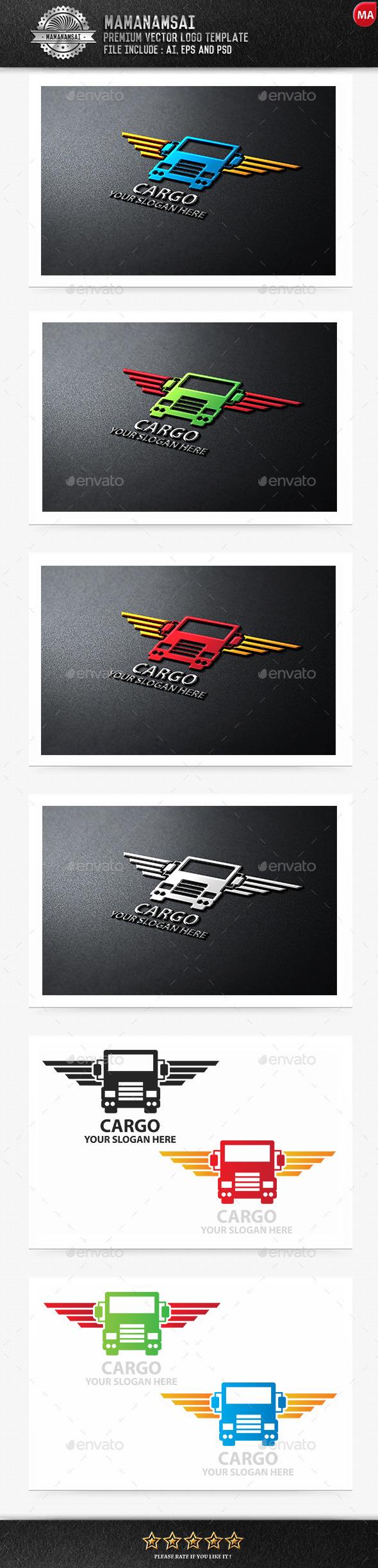 GraphicRiver Cargo Logo 9555065