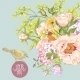 Spring Floral Bouquet with Birds Greeting Card - GraphicRiver Item for Sale