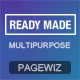 PageWiz Multi-Purpose Landing Template - Readymade - Pagewiz Marketing