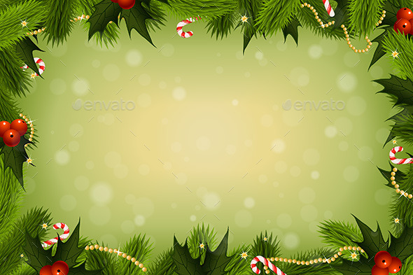 GraphicRiver Christmas Card Background 9555795