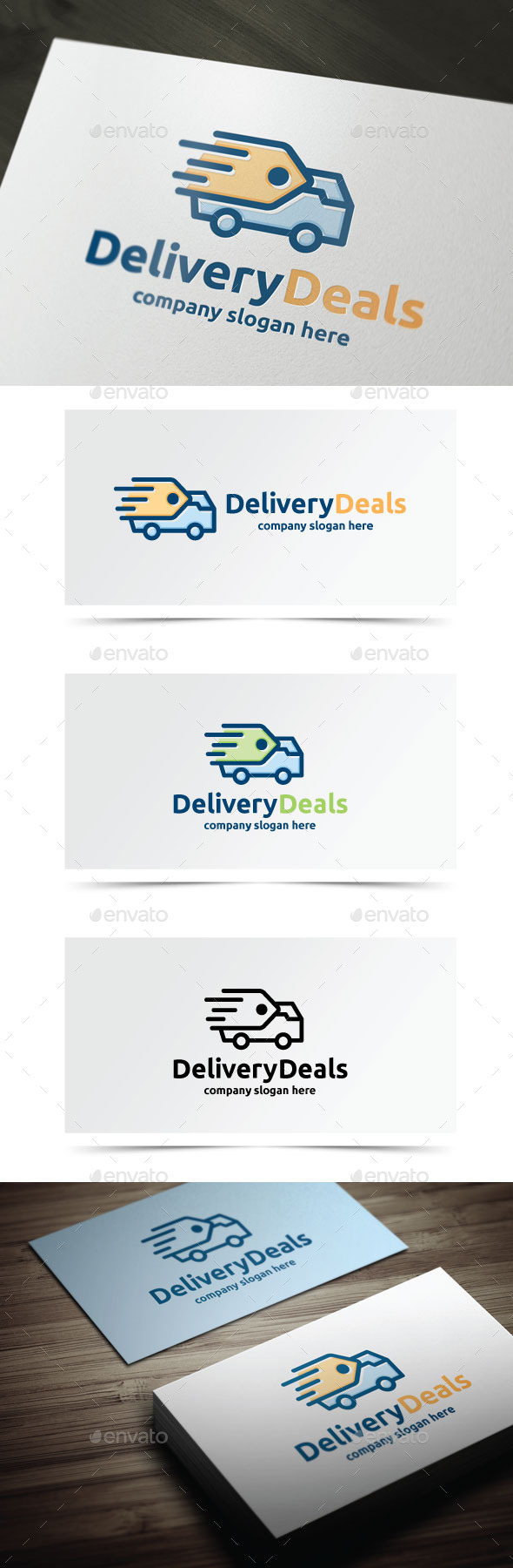 GraphicRiver Delivery Deals 9555843