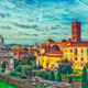 Roman Forum Digital Painting - PhotoDune Item for Sale