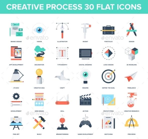 GraphicRiver Creative Process 9556007
