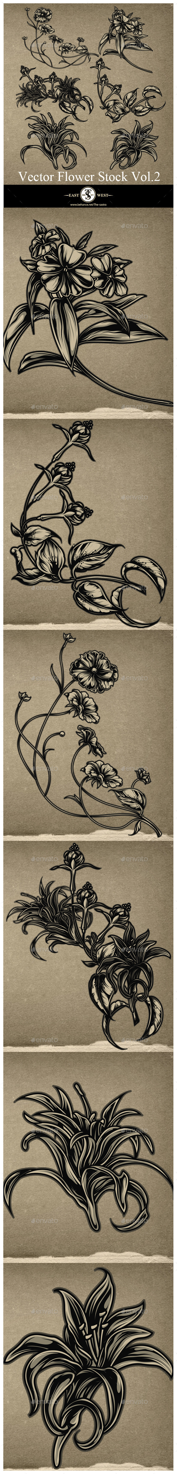 GraphicRiver Flower Stock Volume 2 9556678