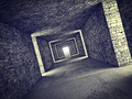 abstract tunnel - PhotoDune Item for Sale