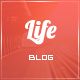 Life: Minimalist Content-Focused Template - ThemeForest Item for Sale