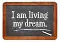 I am living my dream - PhotoDune Item for Sale