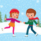 Children Ice Skate - GraphicRiver Item for Sale