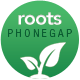 Roots - PhoneGap/Cordova Multi-Purpose Hybrid App