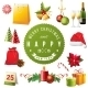 Christmas Design Elements - GraphicRiver Item for Sale